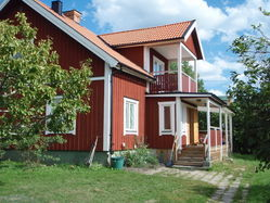 Swedish lakeside cottages