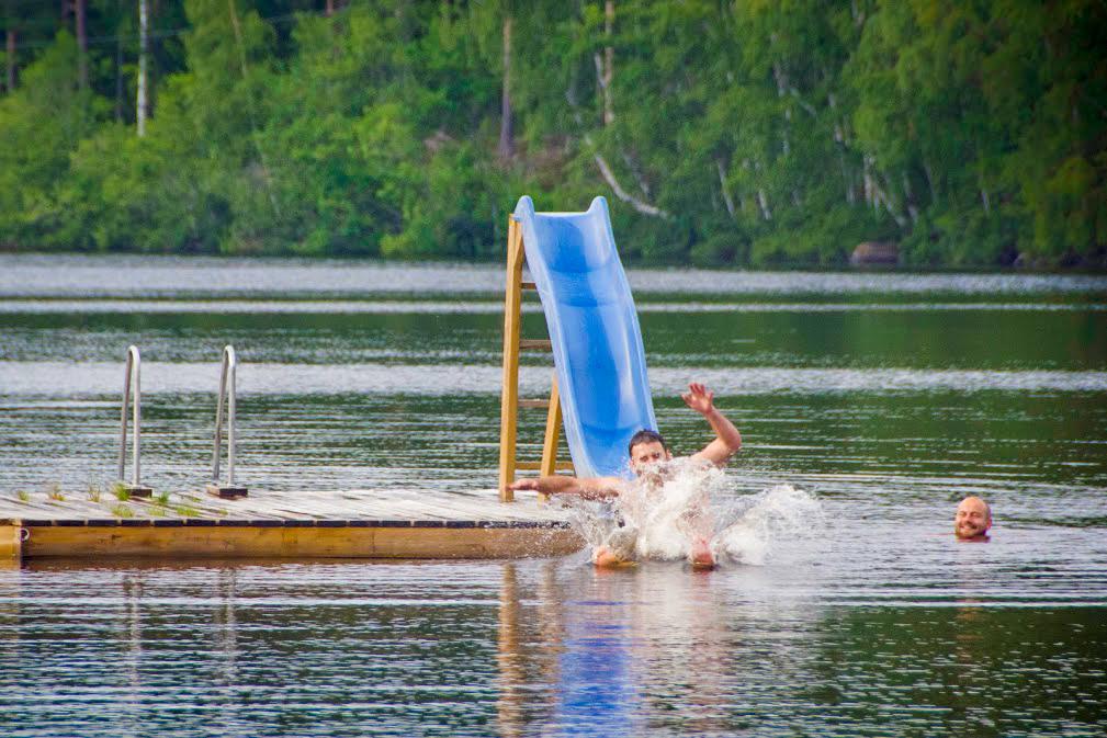 swimming wild waters lakes