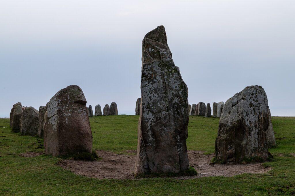 skåne skane south sweden ale stones röksten vikings ship stone