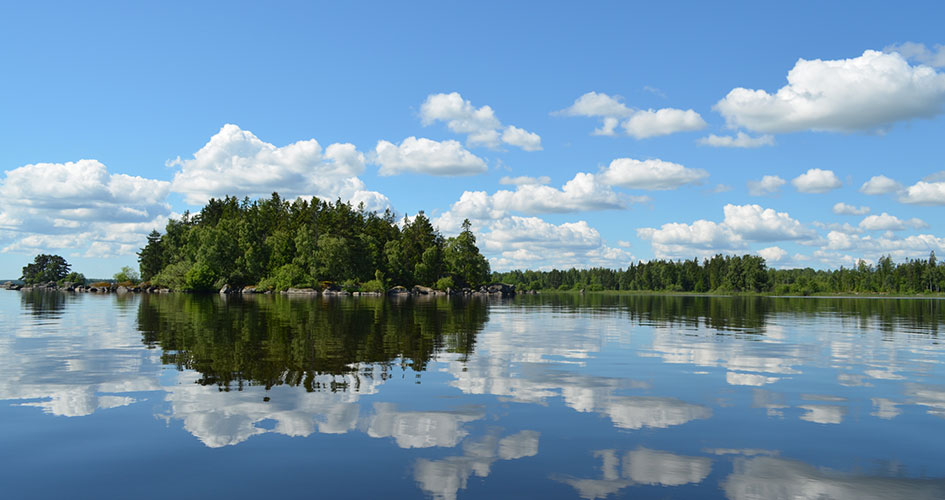 asnen national park sweden photograph place