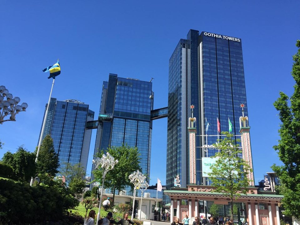gothenburg gothia towers liseberg amusement park