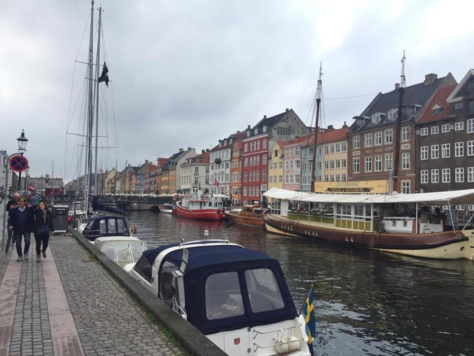 denmark nyhavn copenhagen canal city