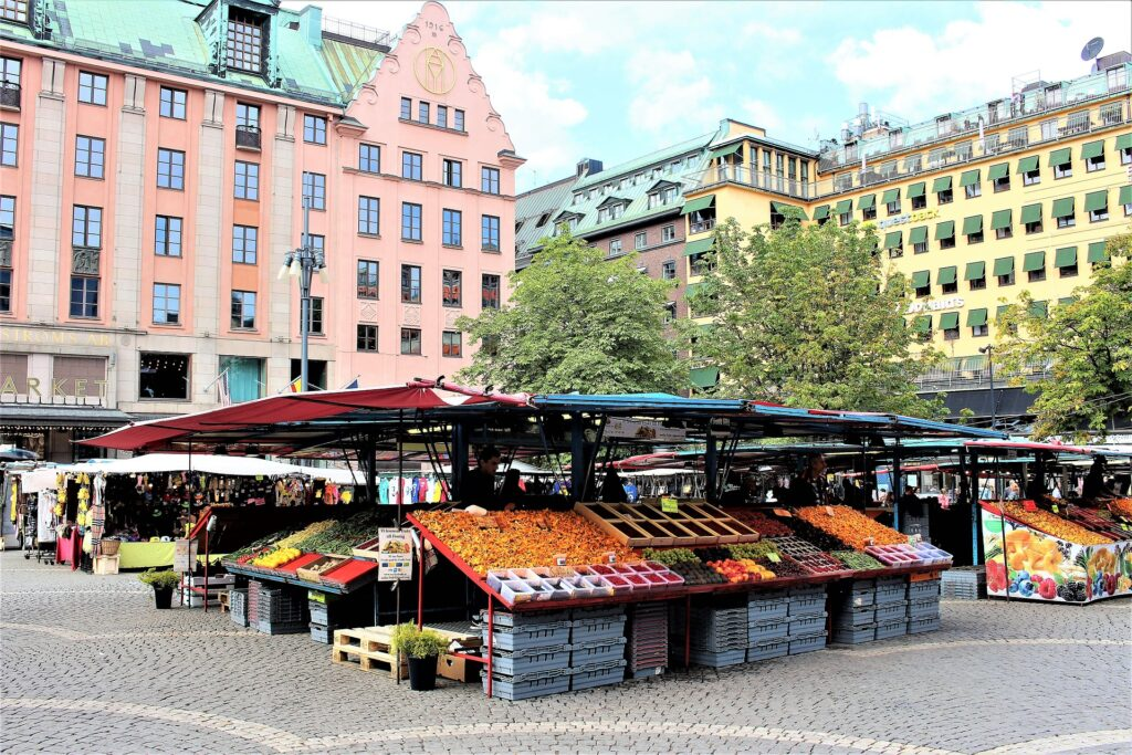 Best cities Scandinavia stockholm sweden market